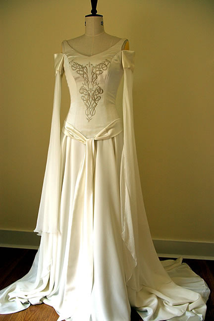 medieval wedding dresses